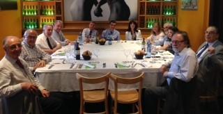 DINAR DE PROVA. Dimecres 6 de juny. Convidat: Excm. Sr. JÚLIO J. NAVEIRA MANTEIGA , President del Consell dels Il·lustres Col·legis d'Advocats de Catalunya.